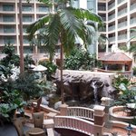Interior Courtyard Inside Hotel