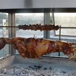 Whole Roasted Lamb with Intestine