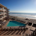 The only hotel in Carlsbad, Ca on the beach!