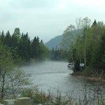 Le Saguenay et la rivière
