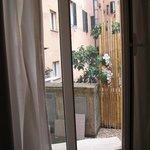 Area outside room