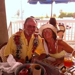 Ernie and me at Bubba Gump's Shrimp Co.!