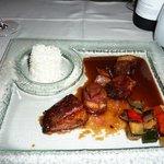 Asian duck dish