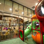 Airconditioned Kids Club at Cazalys Cairns