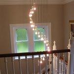 Lights outside bedroom