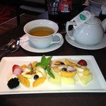 Fruit Dessert w/Hot Tea