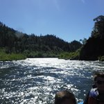 Rogue river on Hellgate boat