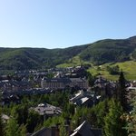 View of Beaver Creek Village from our room