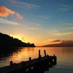 Sunrise at Lake Tarawera