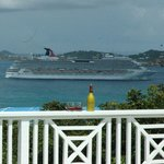 Watching the World Pass By: Westerly View from the Deck