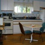 Kitchen area (other side is livingroom)
