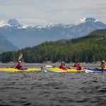 Sea Kayaking Tours Vancouver Island British Columbia, Canada