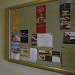 The informal notice board