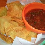 Chips and Dip (Salsa)
