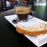 Espresso and bread!
