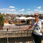 roof terrace with amazing view of Rome