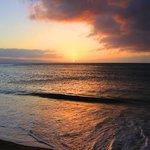 Sunset from Kahana, Maui