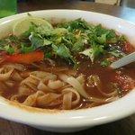 Fideos de México: Mexican fusion rice noodle soup