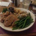 Turkey dinner special $9.99