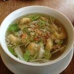 WonTon Soup at Meli Cafe near Checkpoint Charlie