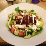 Sticky chicken salad