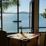 Wunderschöner Ausblick vom Restaurant