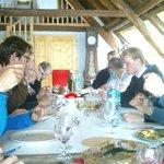 samen eten in de Loft