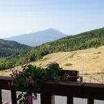 View of Mount Etna from room