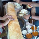 even two cannot finish this one dosa!