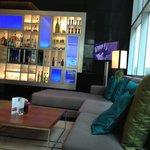 Relaxing & enjoying high tea in foyer bar