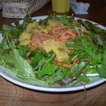 Shrimp and Green Salad  750 yen