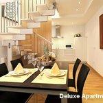 Comedor Cocina Apartamentos Deluxe Playafels