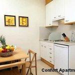 Cocina Apartamentos Confort Playafels