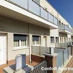 Fachada apartamentos confort Playafels
