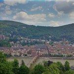 Heidelberg from 'Philosophenweg'