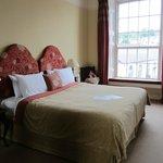 Half of bedroom (postmaster suite)