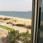 vista al mar del apartamento