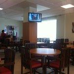salão restaurante - bem arrumado