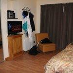Amplias habitaciones, muy cómodas!