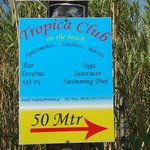 New sign for Tropic Club, others to follow