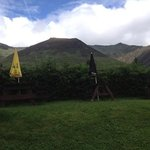 blencathra, directly behind the Horse and Farrier!!