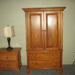 Old TV in Armoire