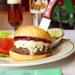 Cajun Gorgonzola Burger