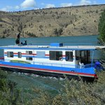 First day's mooring on Lake Billy Chinook