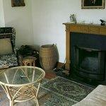 lounge area inside main house