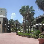 "The walkway between the Grand Lucayan and the Casino......... the ""secret"" entrance into the Res"