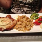 Pineapple/cheese Schnitzel