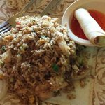 chicken fried rice lunch special