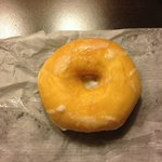 Glazed donut from the Donut Stop