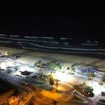 Vu de nuit sur la plage